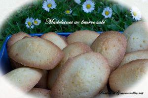 Madeleines au beurre salé