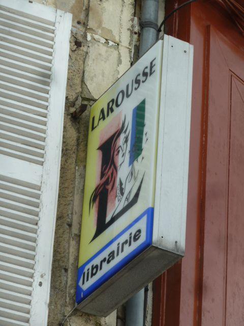 Un vestige, il n'y a plus de librairie à Vierzon