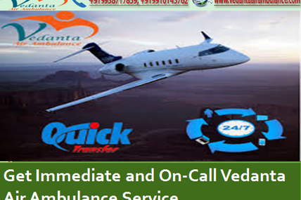Excellent Daily Availability Vedanta Air Ambulance Service in Shimla