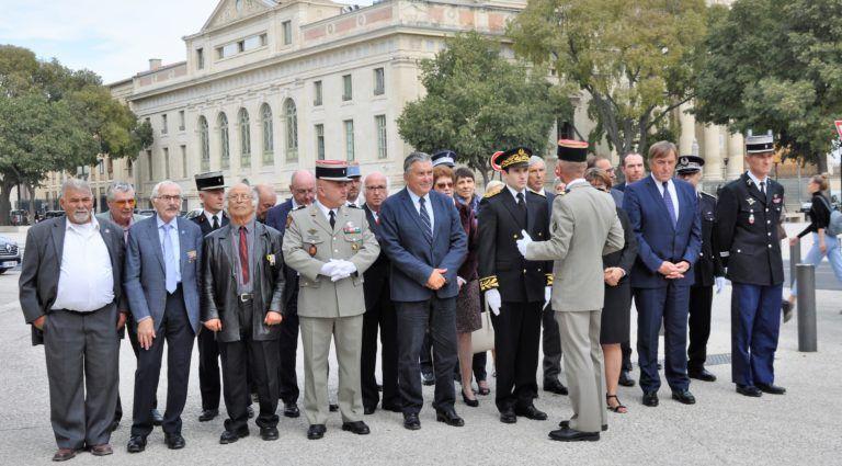 Journée nationale d'Hommage des Harkis, et membres des formations supplétives à Nîmes (30)