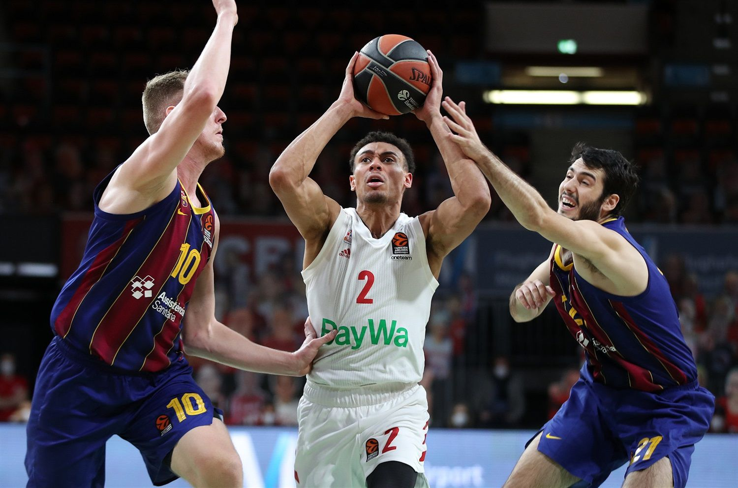 EuroLeague : le Bayern Munich remporte le choc face au Barça