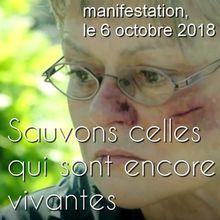 PETITION DE MURIEL ROBIN - Manifestation du 6 octobre 2018