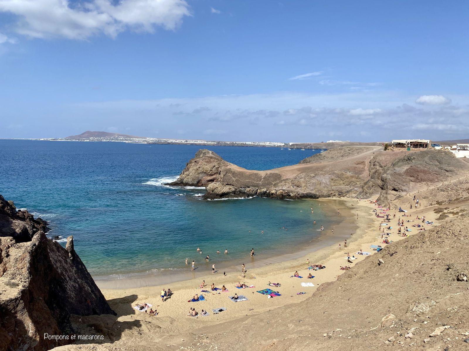 Notre découverte de l'île de Lanzarote: itinéraire de notre road trip de 6 jours avec les enfants (8 ans et demi et 6 ans et demi)!