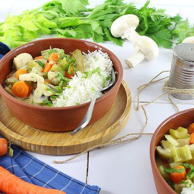 Blanquette de Poulet et Légumes d'Hiver