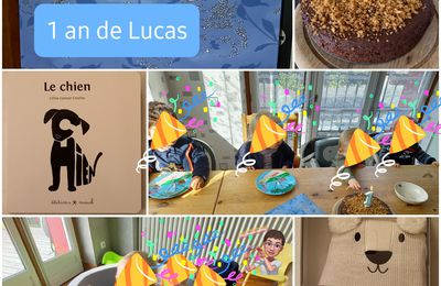 Anniversaire de Lucas : 1 an!