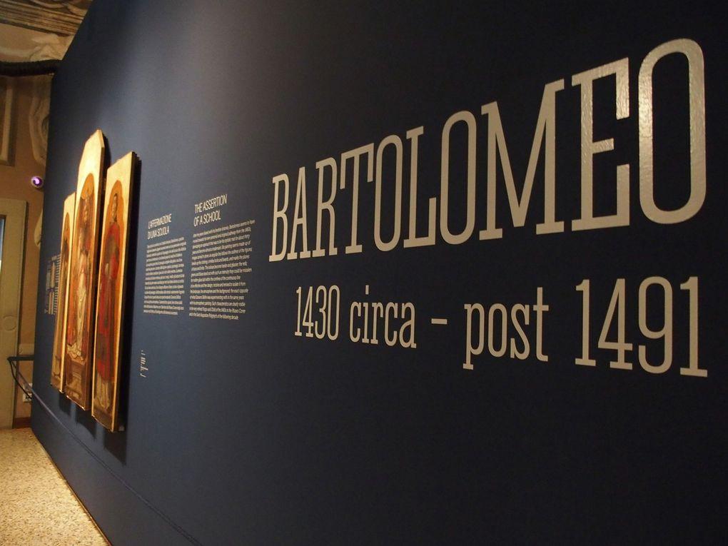 Quelques œuvres de Bartolomeo Vivarini © Le Curieux des arts Gilles Kraemer, visite de presse exposition I Vivarini Lo splendore della pittura tra Gotico e Rinascimento, Conegliano, 2016