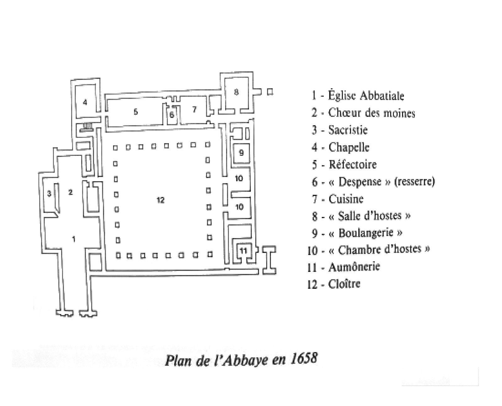 L'Abbaye Notre-Dame du Tronchet en Plerguer.