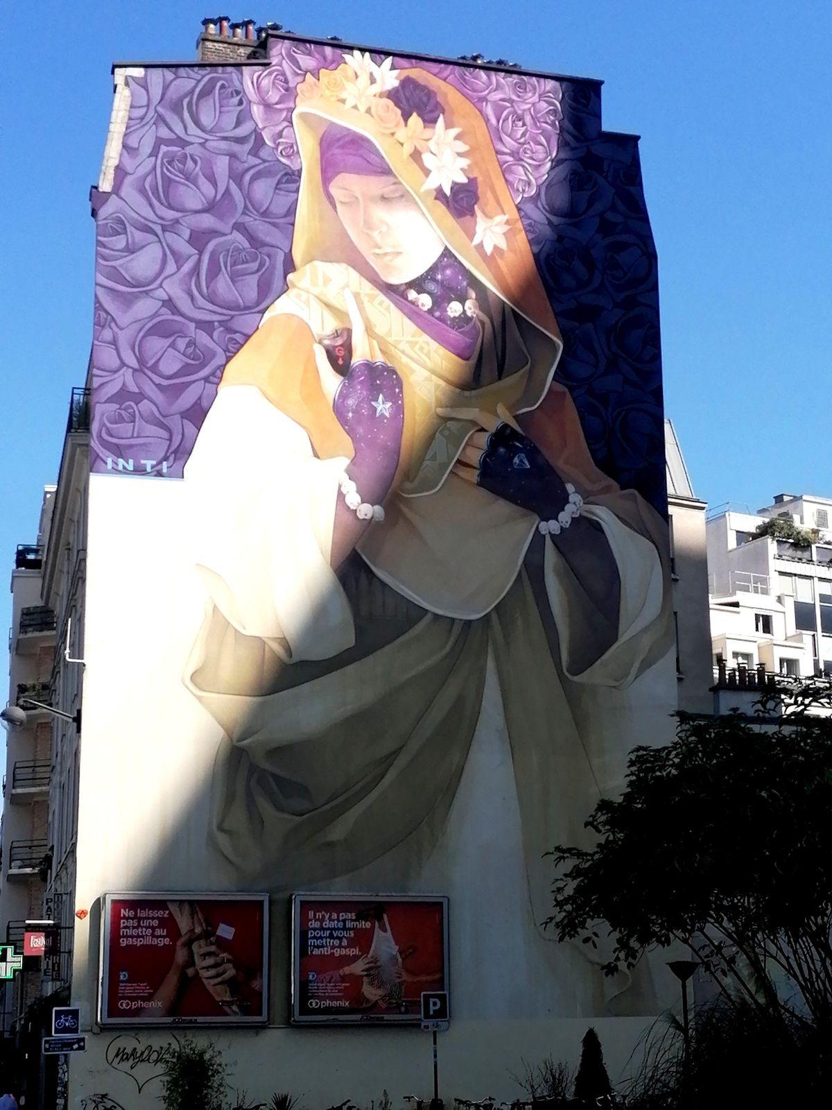 Balade street art dans Paris 13ème