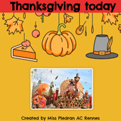 Thanksgiving today by Miss Plédran on Genially