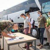 La rentrée, c'est aussi à l'Académie militaire de Saint-Cyr Coëtquidan