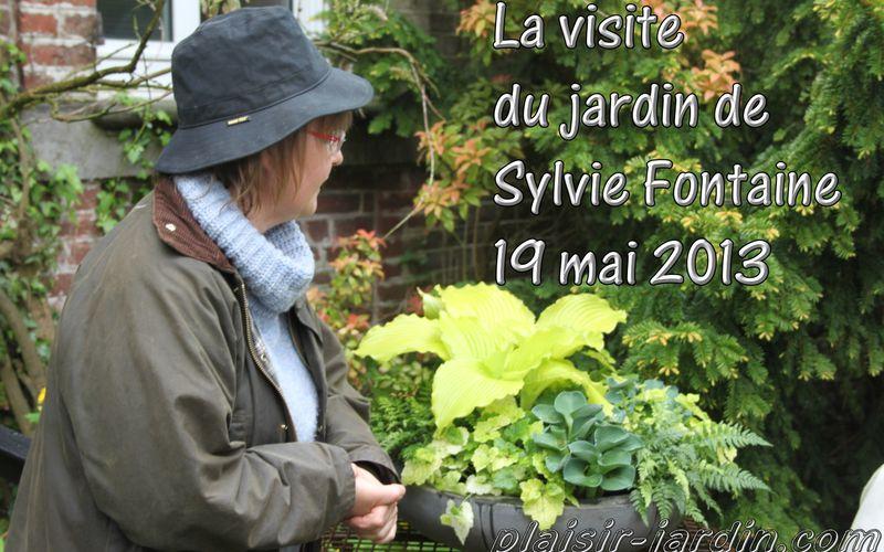 Visite du jardin de Sylvie Fontaine, ... ♫ c'est un jardin extraordinaire ♫