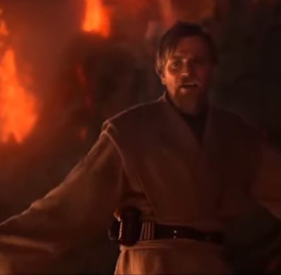 """Star Wars III, La Revanche des Sith: """"I Have the High Ground,"""" une autre fourberie d'Obiwan. (1100 mots)"""