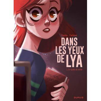Rallye lecture BD/manga 2020 4ème/3ème : Dans les yeux de Lya