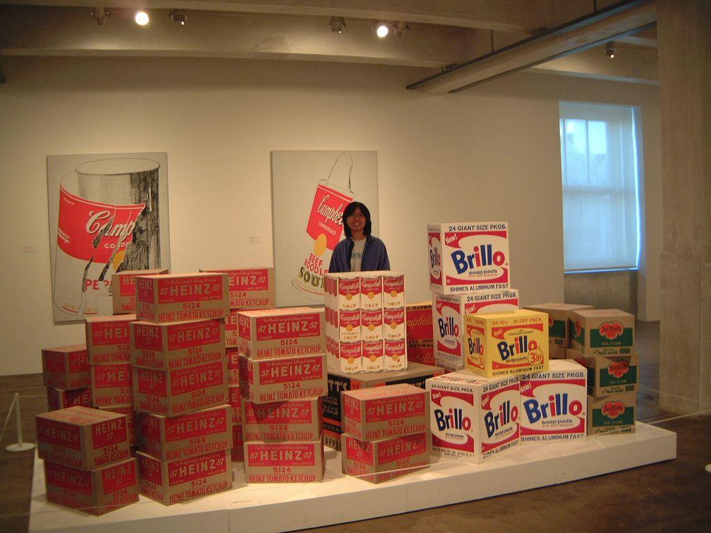 Andy Warhol (de son vrai nom Andrew Warhola), né le 6 août 1928 à Pittsburgh en Pennsylvanie1 et mort à New York le 22 février 1987 est un artiste américain, figure centrale du Pop Art, dont il est l'un des pionniers.
