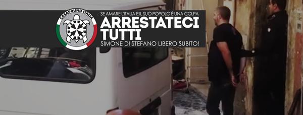 RÉPRESSION ANTISOCIALE ET ANTIFASCISTE À ROME : SOLIDARITÉ AVEC LES CAMARADES DE LA CASAPOUND !