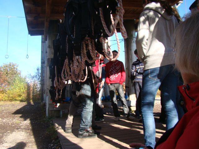 Le séjours des jeunes représentants notre commune à Neubiberg à la Toussaint 2010.