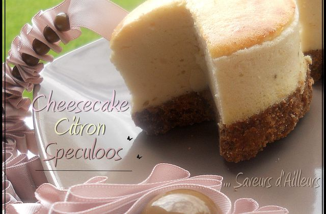 Cheesecake au Citron sur base Speculoos