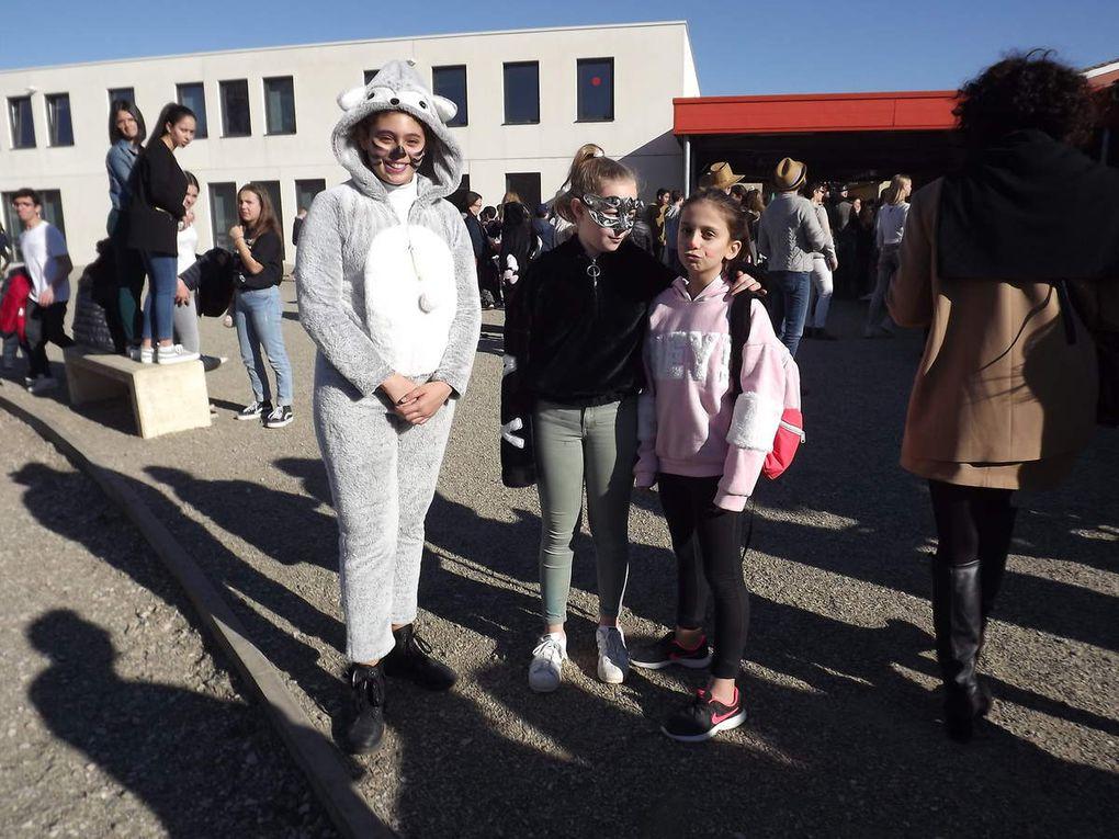 Le collège Saint Pierre  fait son carnaval