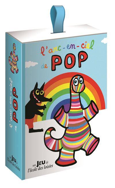 [REVUE JEU DE SOCIETE PAPA GAMEUR] L'ARC-EN-CIEL DE POP aux éditions L'ECOLE DES LOISIRS