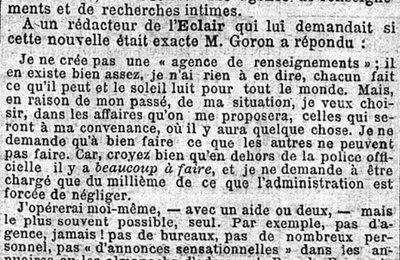 Petit focus sur Goron : la plus ancienne société de sécurité en France (toujours en activité)