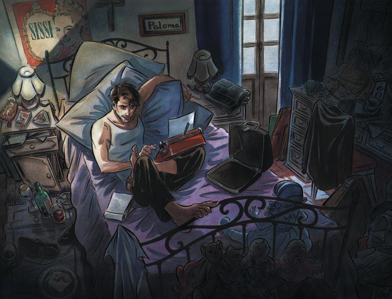 illustration BD Contrapaso - Les enfants des autres / Parution le 02/04/2021 - Édition Dupuis / Teresa Valero