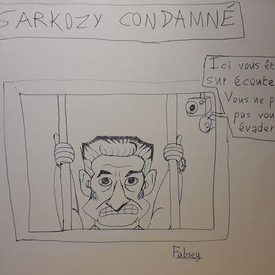 Sarkozy condamné