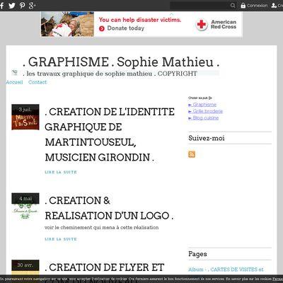 . GRAPHISME . Sophie Mathieu .