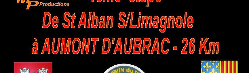 ETAPE 4 - St ALBAN S/LIMAGNOLE - AUMONT D'AUBRAC