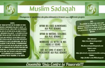 Participé aux projets de l'association Muslim Sadaquah