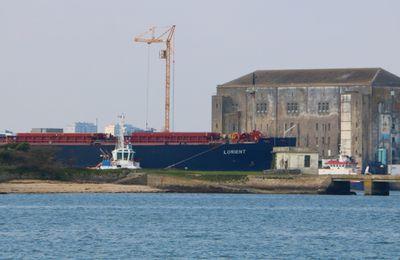 L'arrivée de LORIENT à Lorient en images...