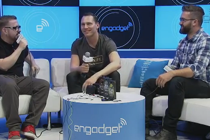 Tiësto interview vidéo for Engadget at CES Las Vegas