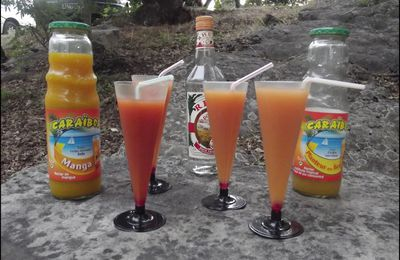 Cocktails Caraibos.