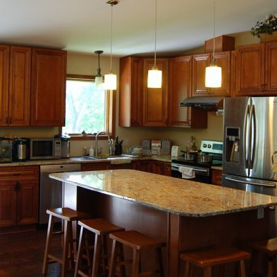 Make Kitchen the Heart of Your Home with Wooden Kitchen Cabinets