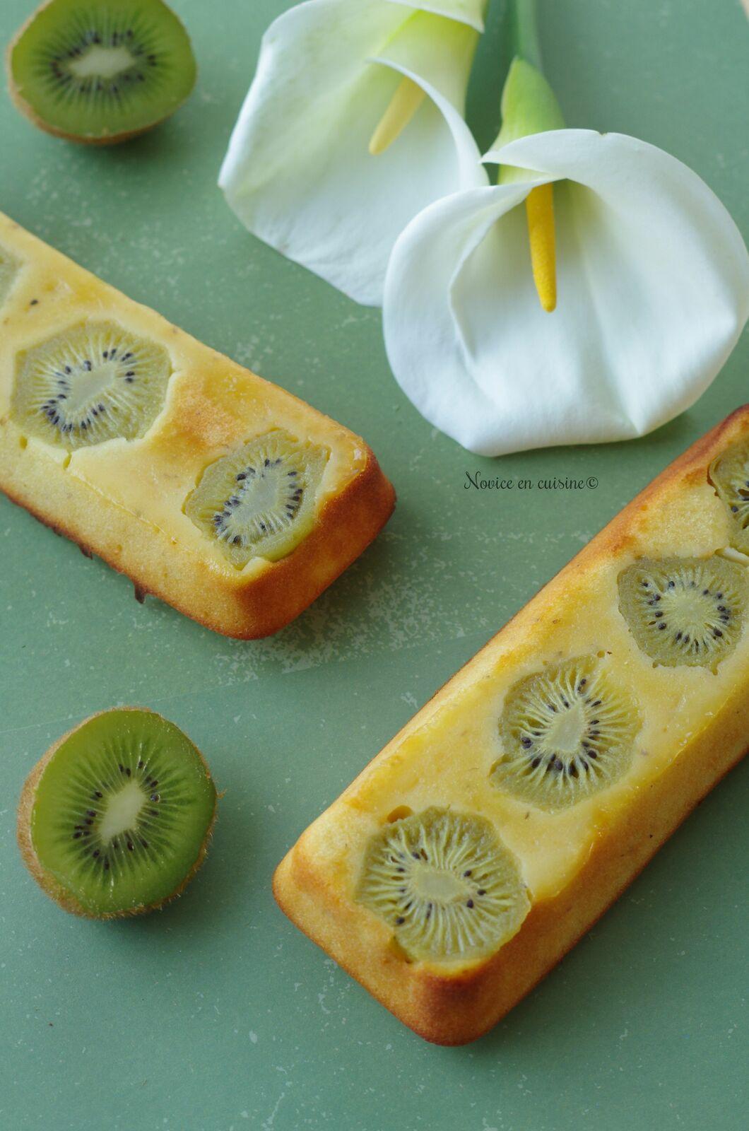 Fondant aux kiwis et fève tonka