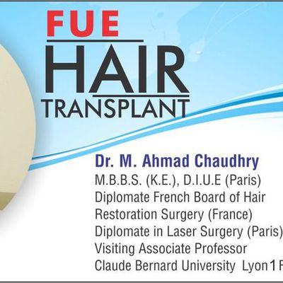About Fue hair transplant clinic Pakistan