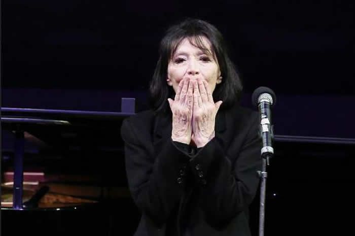 Juliette Gréco disparaît à l'âge de 93 ans. (Photo by FRANCOIS GUILLOT / AFP) © FRANCOIS GUILLOT