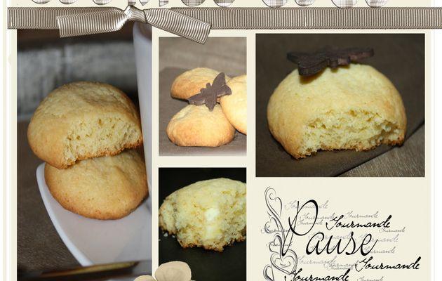 Cookies à la noix de coco et au chocolat blanc !!