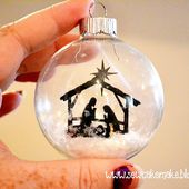 The Sew*er, The Caker, The CopyCat Maker: Fabulous Glass Ornaments