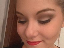 Maquillage tapis rouge