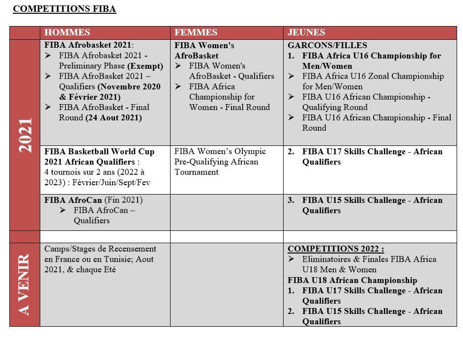 AfroBasket 2021 : les Fauves avec Romain Sato, Will Yeguete et Bryant Selebangue