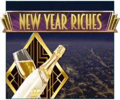 machine a sous mobile New Year Riches logiciel Play'n Go