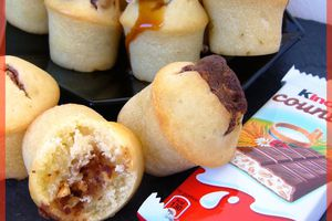 Mini muffins au kinder country