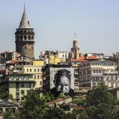 "Expo Street Art: "" Wrinkles of The City ISTANBUL "" - ACTUART by Eric SIMON"