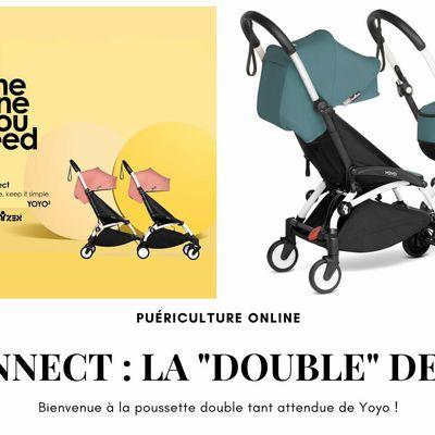 """[Puériculture] Yoyo connect : la poussette double """"made in Babyzen"""" est arrivée !"""