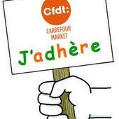 Retrouvez le Bulletin d'adhésion CFDT en ligne. - La CFDT chez CARREFOUR Market.