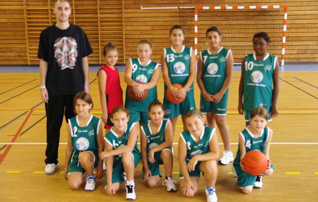 Les poussines en reconquête pour le basket feminin à l'ALVP