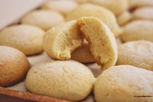 "Helenettes ""biscuits moelleux aux amandes"