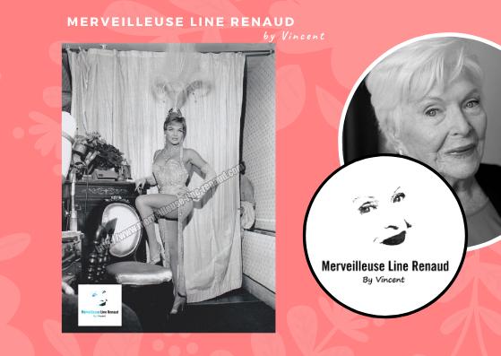 PHOTOS: Line Renaud dans sa loge du Casino de Paris dans les années 60
