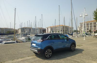 Essai Opel Crossland X 1.2 Turbo 110 ch Innovation
