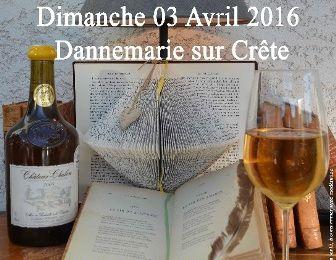 Salon LE VERRE ET LA PROSE - Dannemarie sur Crête (Doubs).